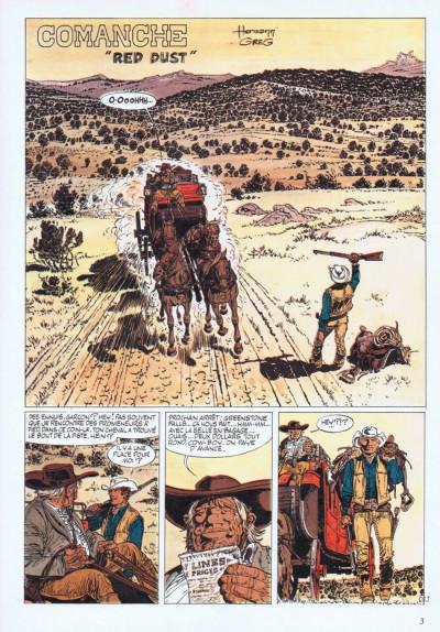 Couverture Comanche tome 1 - Red Dust