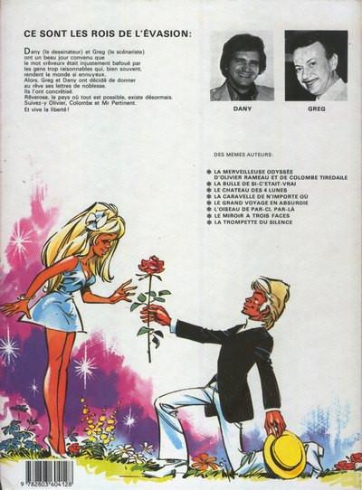 Couverture Olivier Rameau tome 9 - Le canon de la bonne humeur (éd. 1983)
