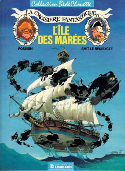 Couverture Croisière fantastique (La) tome 1 - L'île des marées (éd. 1987)