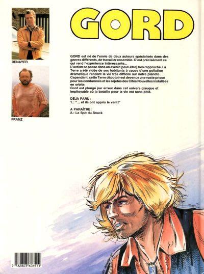 Couverture Gord tome 1 - ...et ils ont appris le vent (éd. 1987)