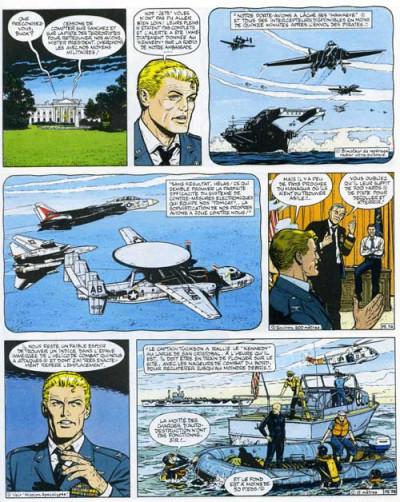Couverture Buck Danny tome 42 - Les pilotes de l'enfer (éd. 1984)