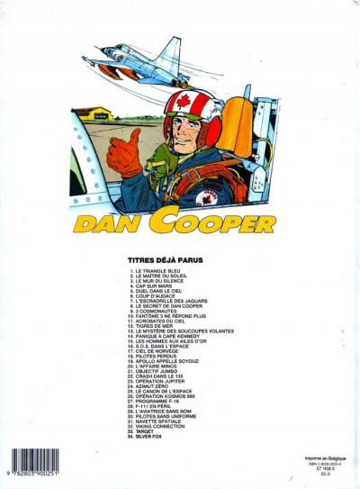Couverture Les aventures de Dan Cooper tome 34 - Silver fox