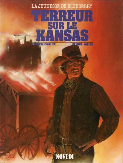 Couverture La Jeunesse de Blueberry tome 5 - Terreur sur le Kansas