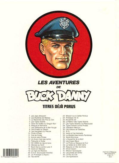 Couverture Buck Danny tome 44 - Les