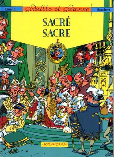 Couverture Godaille et Godasse tome 2 - Sacré sacre (éd. 1991)