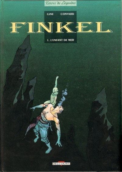 Couverture Finkel tome 1 - L'enfant de mer