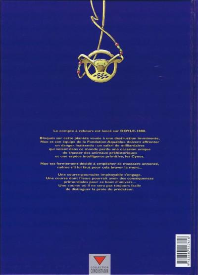 Couverture Aquablue tome 9 - Le totem des Cynos (éd. 2002)