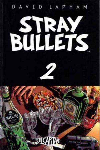 Couverture Stray bullets tome 2 - Stray bullets - T2 (éd. 1996)