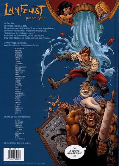 Couverture Lanfeust par ses amis - Les Improbables (éd. 2005)