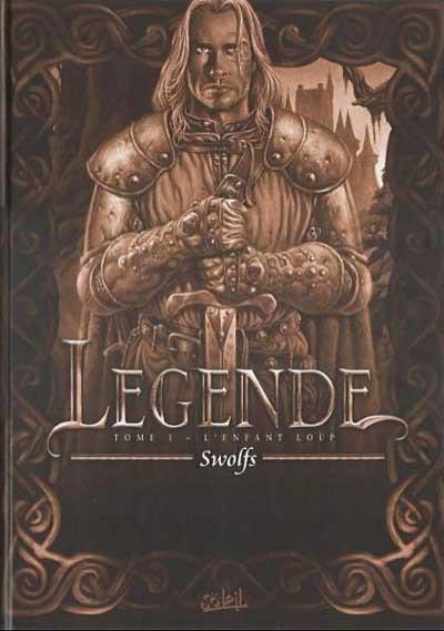 Couverture Légende tome 1 - L'enfant loup (éd. 2003)