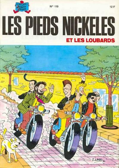 Couverture Les Pieds Nickelés (3e série) (1946-1988) tome 119 - Les Pieds Nickelés et les loubards
