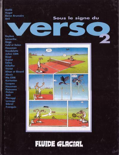 Couverture Sous le signe du Verso tome 2