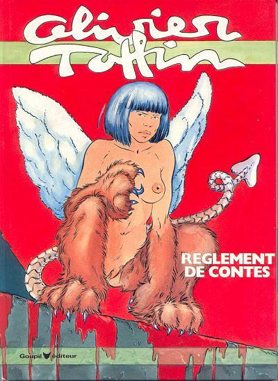 Couverture Règlement de contes (Taffin) - Règlement de contes (éd. 1985)