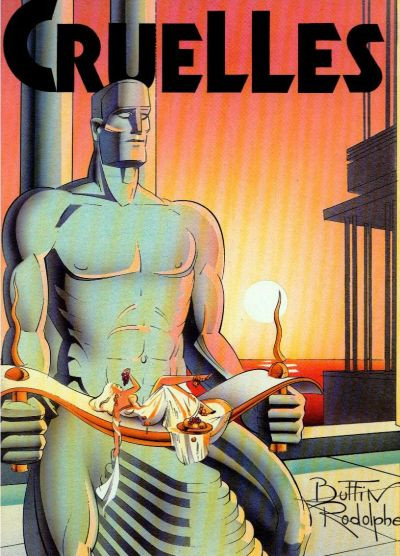 Couverture Cruelles - Cruelles (éd. 1986)