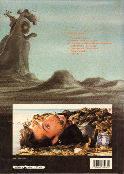 Couverture Pacush Blues tome 6 - Sixte mineure : Le mal de mer (éd. 1988)