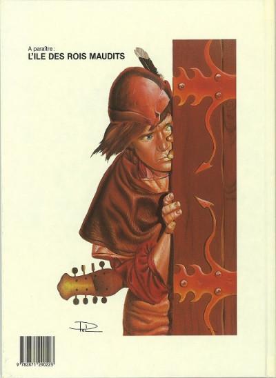 Couverture Tristan le ménestrel tome 1 - le sortilège d'Ysandrelle