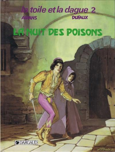image de Toile et la dague (la) tome 2 - La nuit des poisons (édition 1988)