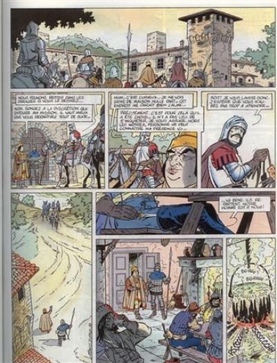 Couverture Toile et la dague (la) tome 3 - Le prince foudroyé (éd. 1989)