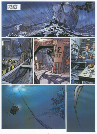 Couverture Imago Mundi tome 1 - Promesses d'Atlantide (éd. 2003)