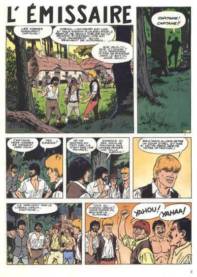 Couverture Bakelandt tome 2 - L'émissaire (éd. 1986)