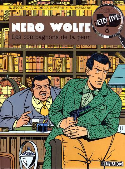 Couverture Nero Wolfe tome 1 - Les compagnons de la peur (éd. 1990)