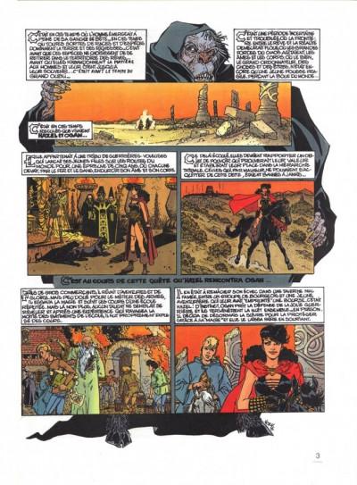 Couverture Hazel et Ogan tome 1 - L'épée de foudre