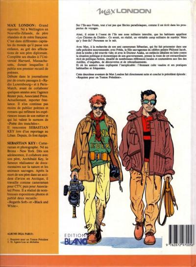 Couverture Max London tome 2 - Et Agaou-Loa se déchaîna