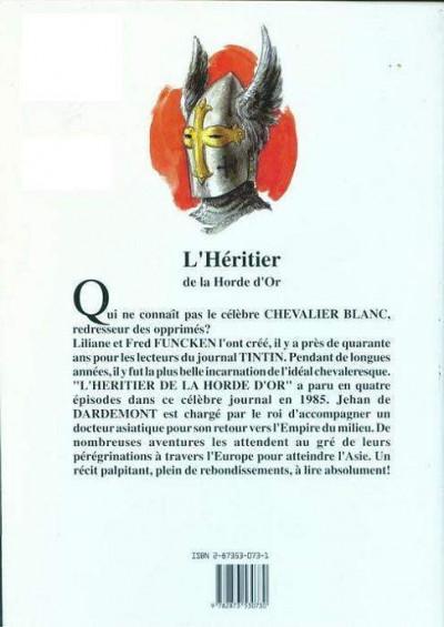Couverture le Chevalier Blanc T.11 - l'héritier de la horde d'or
