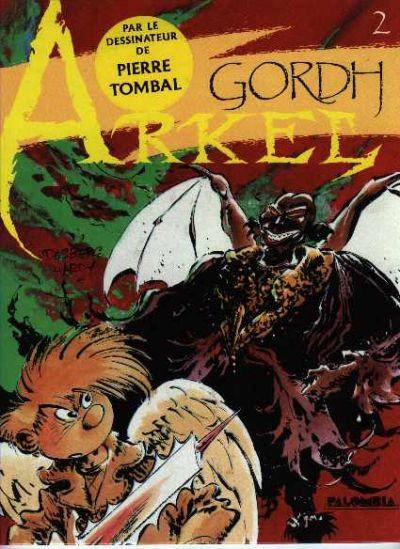 Couverture Arkel tome 2 - Gordh