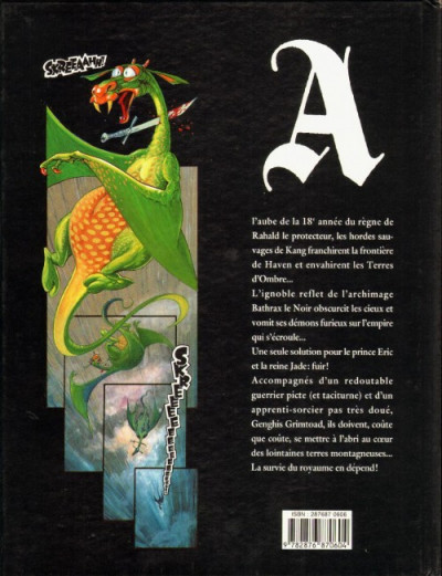 Couverture Terres d'ombre (Les) tome 1 - Les terres d'ombre (éd. 1990)