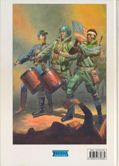 Couverture Liberty - Martha Washington tome 4 - Frontières (éd. 1991)