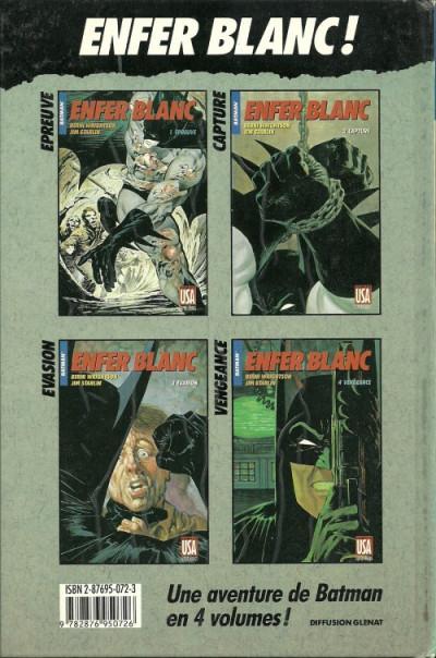 Couverture Collection Super Héros (Comics USA) tome 18 - Batman : Enfer blanc 4/4 - Vengeance (éd. 1989)