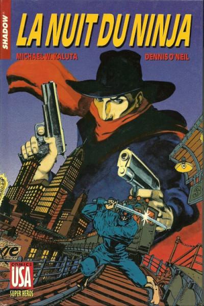 Couverture Collection Super Héros (Comics USA) tome 26 - Shadow (3/3) : La nuit du Ninja (éd. 1989)
