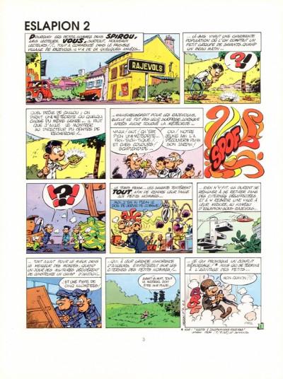 Couverture Petits hommes (Les) (Soleil/Jourdan) tome 2 - Eslapion 2 (éd. 1990)