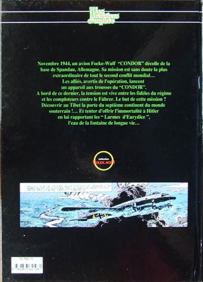 Couverture Héritiers d'Orphée (Les) tome 1 - Le vol du condor (éd. 1992)
