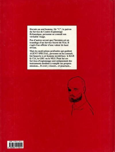 Couverture Agent spécial (Agorma) tome 1 - Le roumain