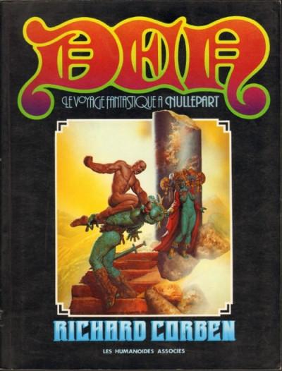 image de Den tome 1 - Le voyage fantastique à nullepart (édition 1978)