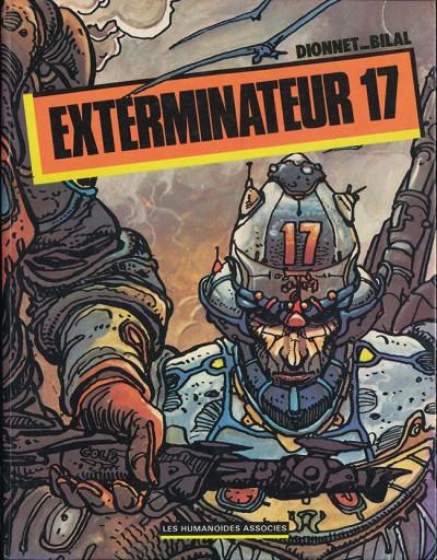 Couverture Exterminateur 17 - Exterminateur 17 (éd. 1979)