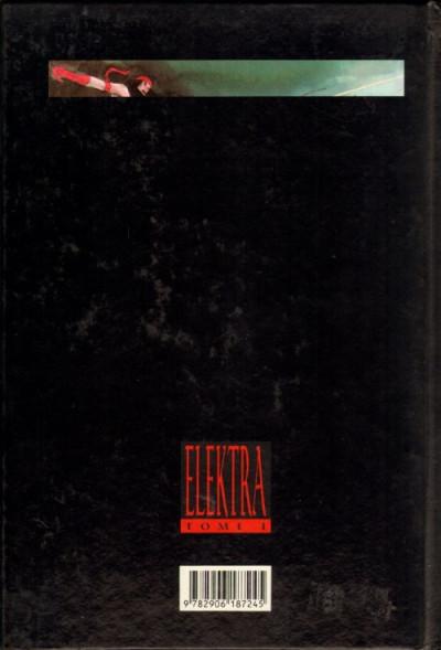 Couverture Elektra tome 1 - Elektra - 1 (éd. 1989)