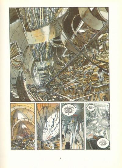 Couverture Mondes de Luz (Les) tome 2 - Usine génétique (éd. 1992)