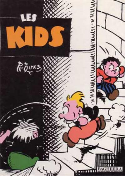 Couverture Pim Pam Poum tome 11 - Les Kids (éd. 1991)