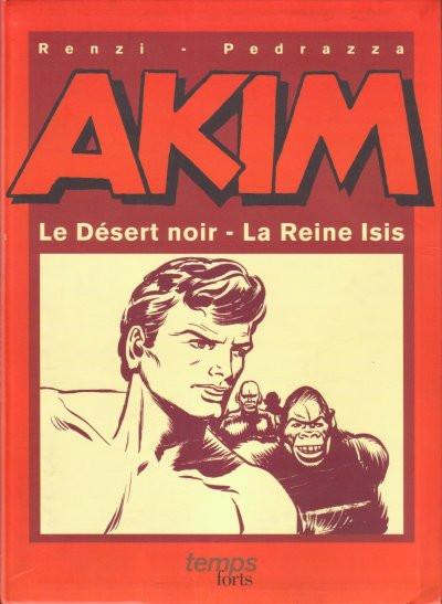 Couverture Akim (1re série) - Le désert noir - La reine Isis