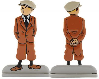 Page 2 Tintin Relief ; L'Oreille Cassée