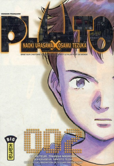 Page 3 Pluto : les 8 tomes