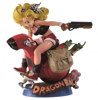 Couverture Dragon Ball - Figurine Lunch (SP color figurine)