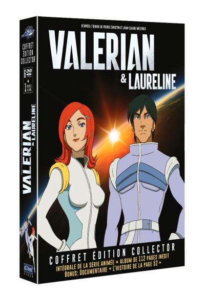 Couverture Valérian & Laureline - Coffret édition collector + DVD