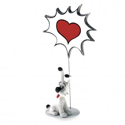 Couverture Figurine Idéfix love