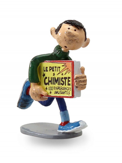 Couverture Gaston et le Kit du Petit Chimiste