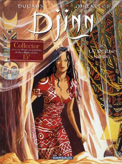 Couverture djinn tome 6 - la perle noire (+ portfolio)