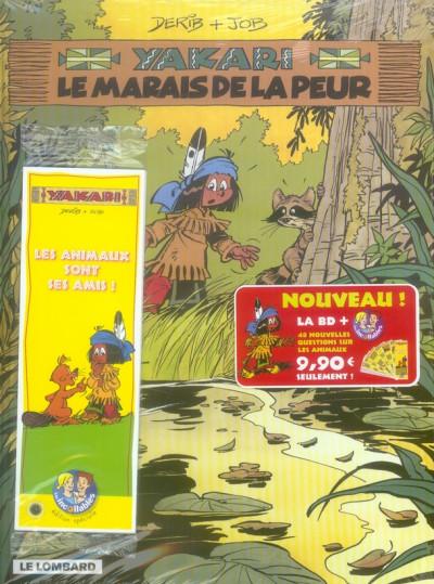Couverture yakari tome 33 - le marais de la peur + 48 Fiches Les incollabes sur les animaux